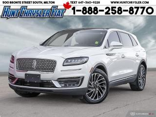 Used 2019 Lincoln Nautilus RESERVE | AWD | LEATHER | TECH | 360 | NAV | HITCH for sale in Milton, ON