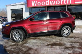 Used 2018 Jeep Cherokee North for sale in Kenton, MB