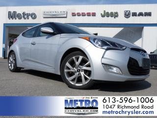Used 2016 Hyundai Veloster SE - Winter Tires for sale in Ottawa, ON