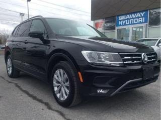 Used 2018 Volkswagen Tiguan Trendline 4MOTION - Bluetooth - Backup Camera for sale in Cornwall, ON