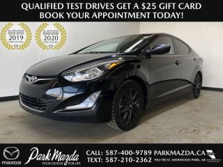 Used 2016 Hyundai Elantra Sport Appearance for sale in Sherwood Park, AB