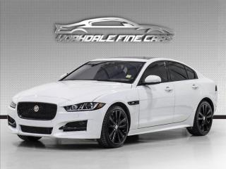 Used 2018 Jaguar XE 30t AWD R-Sport HUD, Red Interior, Navi, Cam, Loaded for sale in Concord, ON