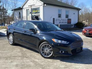 Used 2014 Ford Fusion No-Accidents SE AWD Leather Navi Backup Cam Bluetooth for sale in Sutton, ON