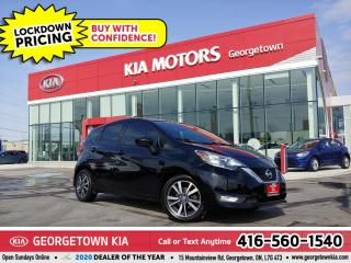 Used 2017 Nissan Versa Note SL   NAV  B/U CAM   HTD SEATS  B/T   ALLOYS  TINTS for sale in Georgetown, ON