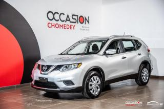 Used 2014 Nissan Rogue S AWD+CAMERA DE RECUL+BLUETHOOTH+CRUZE CONTROL for sale in Laval, QC
