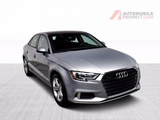 Used 2017 Audi A3 KOMFORT QUATTRO CUIR TOIT PANORAMIQUE  MAGS for sale in St-Hubert, QC