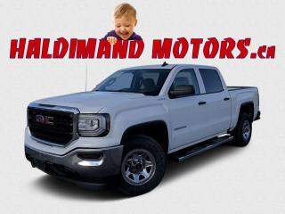 Used 2016 GMC Sierra 1500 WT CREW 4WD for sale in Cayuga, ON