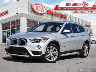 Used 2017 BMW X1 AWD 4dr xDrive28i | CLEAN CARFAX | NAVIGATION | for sale in Oakville, ON