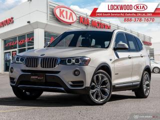 Used 2017 BMW X3 AWD 4dr xDrive28i | CLEAN CARFAX | NAVIGATION | for sale in Oakville, ON