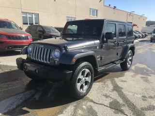 Used 2016 Jeep Wrangler SAHARA 4 PORTES 4X4 for sale in Sherbrooke, QC