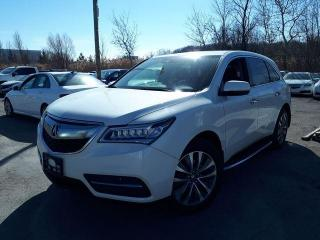 Used 2016 Acura MDX Nav Pkg/ DVD for sale in Pickering, ON