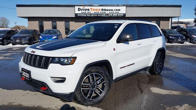 2020 Jeep Grand Cherokee TRAILHAWK **NAV**PANOROOF**LEATHER**5.7L HEMI**