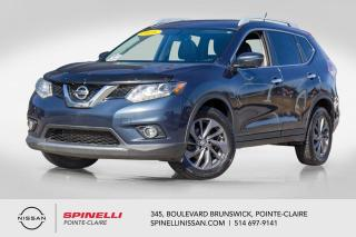 Used 2016 Nissan Rogue SL AWD NAVIGATION / TOIT PANORAMIQUE / CUIR / ANGLES MORTS for sale in Montréal, QC