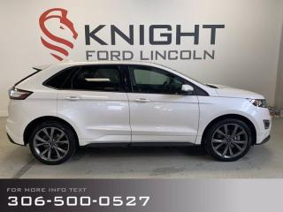 Used 2018 Ford Edge Sport, loaded, 1 owner local trade! for sale in Moose Jaw, SK