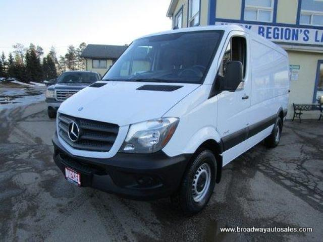 "2015 Mercedes-Benz Sprinter 3/4 TON DIESEL CARGO MOVING 2 PASSENGER 2.1L - BLUE-EFFICIENCY.. 144"" WHEEL-BASE.. LOW-ROOF-BOX.. SHELVING AREA.. SLIDING PASSENGER DOOR.."