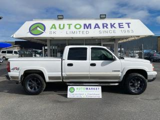 Used 2006 Chevrolet Silverado 1500 HD HD LT1 CREW CAB LEATHER DVD! LOADED! 6.0L! TOY HAULER! for sale in Langley, BC