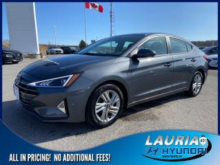 Used 2019 Hyundai Elantra Preferred Auto - Apple Carplay / Android Auto for sale in Port Hope, ON
