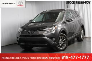 Used 2017 Toyota RAV4 LIMITED| INTÉGRALE| CUIR for sale in Drummondville, QC