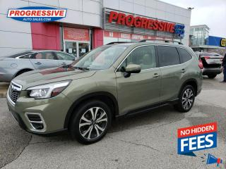 Used 2019 Subaru Forester 2.5i Limited NAV / SUNROOF / LEATHER / BACKUP CAMERA for sale in Sarnia, ON