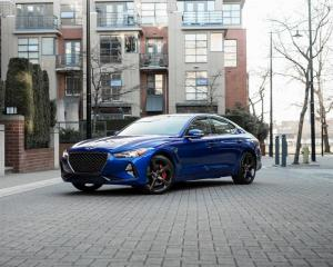 Used 2021 Genesis G70 2.0T Sport RWD for sale in Vancouver, BC