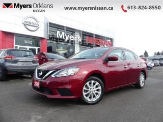 Used 2018 Nissan Sentra 1.8 SV  - Bluetooth -  Heated Seats - $102 B/W for sale in Orleans, ON