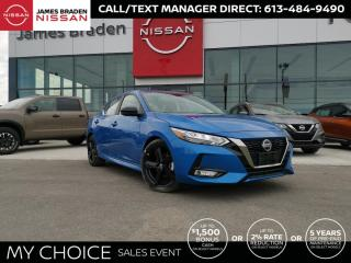 New 2021 Nissan Sentra SR for sale in Kingston, ON
