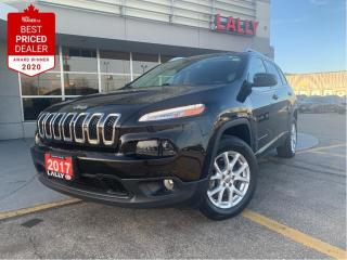 Used 2017 Jeep Cherokee North #AWD #Back-up Cam #Heated seats for sale in Chatham, ON