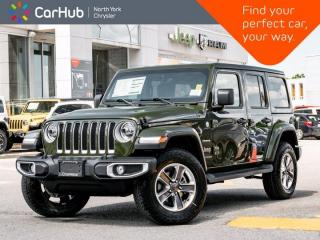 New 2021 Jeep Wrangler Unlimited Sahara 4x4 Cold Weather Grp Nav & Sound Grps LED for sale in Thornhill, ON