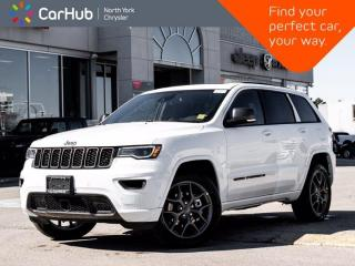 New 2021 Jeep Grand Cherokee 80th Anniversary Edition 4x4 Luxury & Trailer Tow Grp for sale in Thornhill, ON