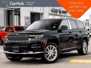 New 2021 Jeep Grand Cherokee L Summit 4x4 Luxury Tech McIntosh Sound Massage Seats for sale in Thornhill, ON