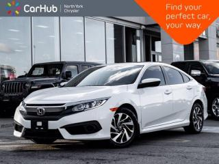Used 2017 Honda Civic Sedan EX Sunroof Heated Seats LaneWatch Backup Camera for sale in Thornhill, ON