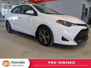 Used 2019 Toyota Corolla LE for sale in Red Deer, AB