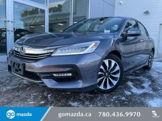 Used 2017 Honda Accord Hybrid TOURING - HYBRID, LEATHER, NAV, HEATED SEATS, GREAT CONDITION! for sale in Edmonton, AB