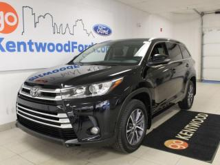 Used 2017 Toyota Highlander XLE | 4WD | Sunroof | Heated Leather | One Owner | Clean Carproof for sale in Edmonton, AB