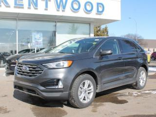 New 2020 Ford Edge SEL | AWD | 201a Pkg | Heated Steering | Power Liftgate | Sunroof | Adaptive Cruise for sale in Edmonton, AB