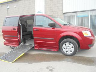 Used 2010 Dodge Grand Caravan SE-Wheelchair Accessible Side Entry-Pwr Ramp for sale in London, ON