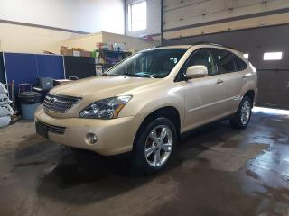 Used 2008 Lexus RX 400h 4WD 4dr Hybrid Luxury S/DVD/No accidents for sale in North York, ON