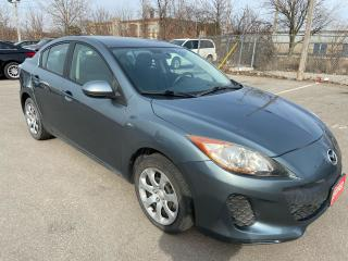 Used 2012 Mazda MAZDA3 GX ** A/C, AUX. IN * for sale in St Catharines, ON