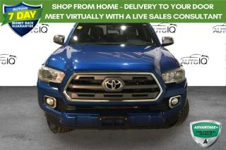 Used 2016 Toyota Tacoma 4WD Double Cab V6 Auto Limited for sale in Sault Ste. Marie, ON