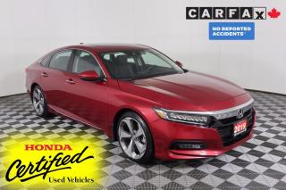 Used 2019 Honda Accord Touring 1.5T NO ACCIDENTS | NAVI | LEATHER | SUNROOF | RADAR CRUISE | LANE-KEEPING for sale in Huntsville, ON