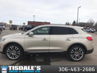 Used 2017 Lincoln MKX Reserve  - Leather Seats -  Cooled Seats for sale in Kindersley, SK