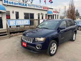 Used 2016 Jeep Compass High Altitude-4x4-Lthr-Accident Free for sale in Stoney Creek, ON