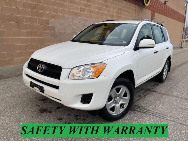 2011 Toyota RAV4 BASE/AWD/safety and warranty
