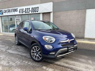 Used 2016 Fiat 500X Trekking Plus-NAVI-LEATHER-SUNROOF for sale in Toronto, ON