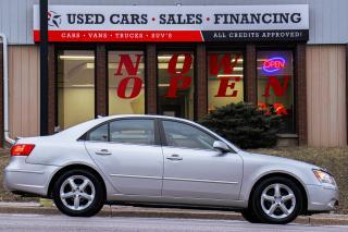 Used 2009 Hyundai Sonata GL Sport | Sunroof | Leather | Alloys | Spoiler for sale in Oshawa, ON