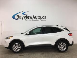 Used 2020 Ford Escape - AWD! ECOBOOST! REVERSE CAM! ALLOYS! + MORE! for sale in Belleville, ON