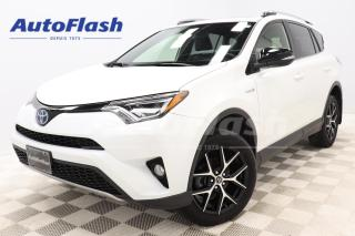 Used 2018 Toyota RAV4 SE/LIMITED *HYBRID/ELECTRIC *CUIR/LEATHER *GPS/CAM for sale in Saint-Hubert, QC