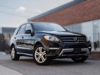 Used 2013 Mercedes-Benz ML-Class ML350 BlueTEC | NAV |PANOROOF | DRIVE ASSIST | LOADED for sale in North York, ON