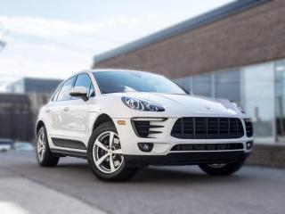 Used 2017 Porsche Macan NAV|PANO ROOF |BACK UP | CLEAN CARFAX| ONE OWNER | for sale in North York, ON