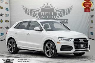 Used 2016 Audi Q3 Technik, S-LINE, NO ACCIDENT, AWD, NAVI, REAR CAM, B.SPOT for sale in Toronto, ON